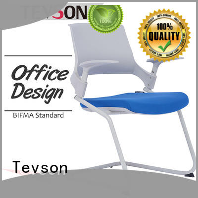 Tevson strong Folding tablet arm chair resources for reception