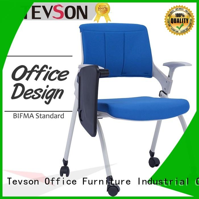 Tevson high elastic chair with tablet stackable