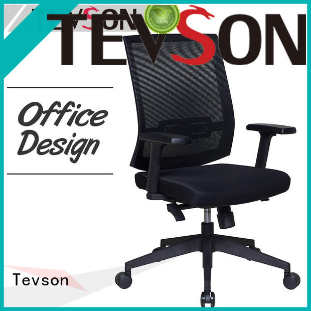 Tevson low cost high-back office chair testing in college dorm