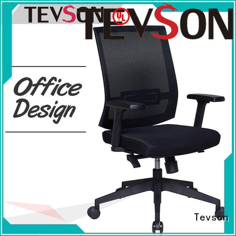 Tevson comfortable mid back executive chair ergonomic for anteroom