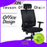 Tevson leather ergonomic leather office chair solutions for reception