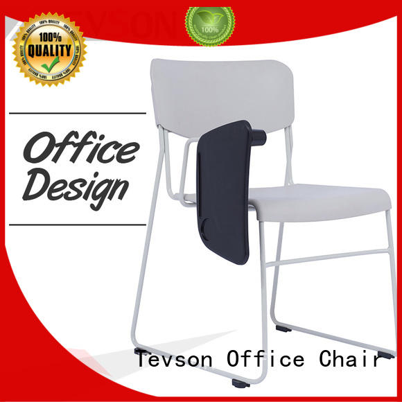 Tevson strong Folding study chair with writing pad for reception
