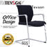 Tevson plastic tablet arm chair free design for reception