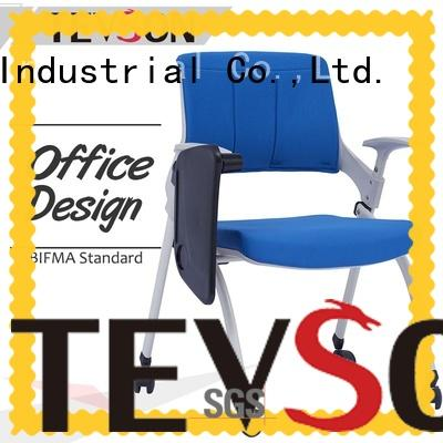 Tevson plastic conference room chairs unique for reception