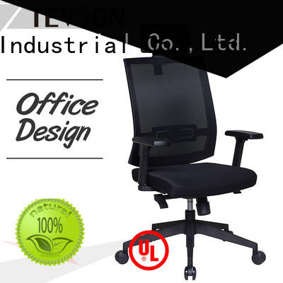 Tevson low cost leather office chair China in work room