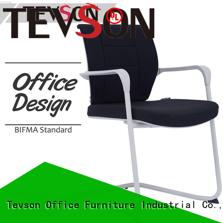 office visitor chair price upholstered with writing board Tevson