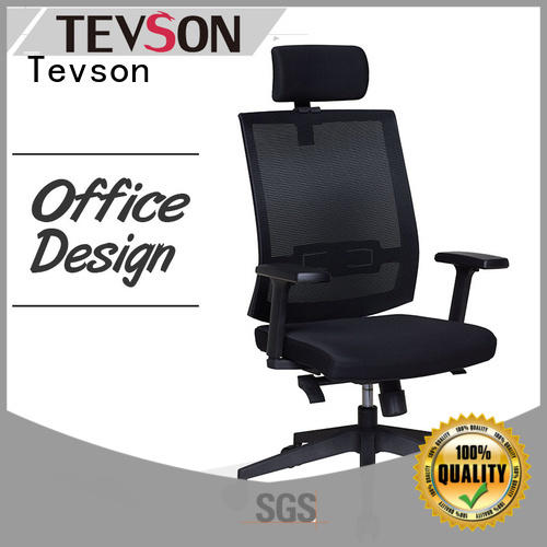low-back office chair leather in college dorm Tevson