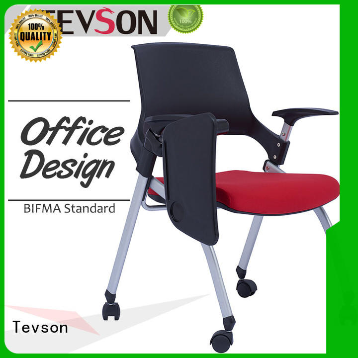 Tevson hot-sale classroom chairs back for conference