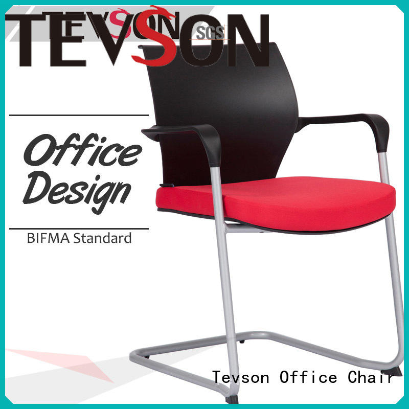 Tevson high elastic classroom chair supply with writing board