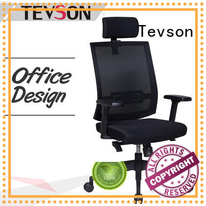 Tevson ergonomic executive chair type in college dorm