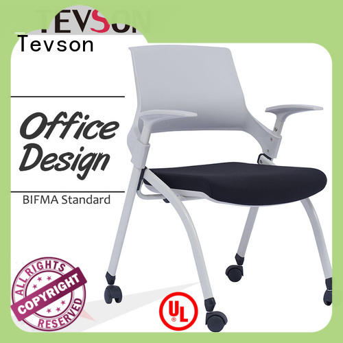 low cost study chair with pad tablet for anteroom