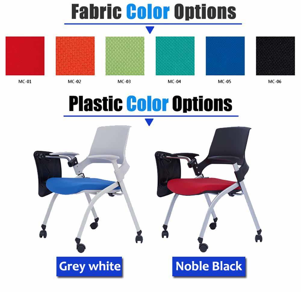 plastic study chair with writing pad furniture marketing-1
