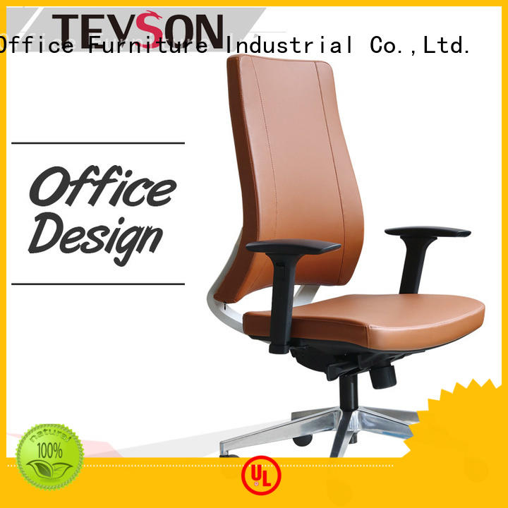 leather low-back office chair gaming Tevson