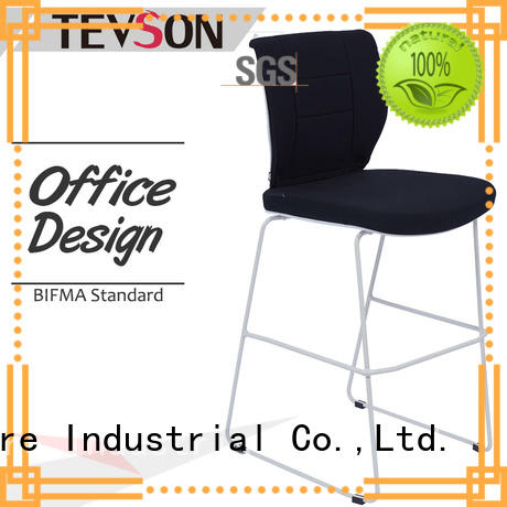 Tevson leg bar chair in different color for canteen