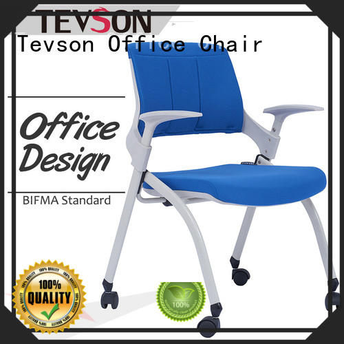 Tevson hot-sale staff room chairs with writing board