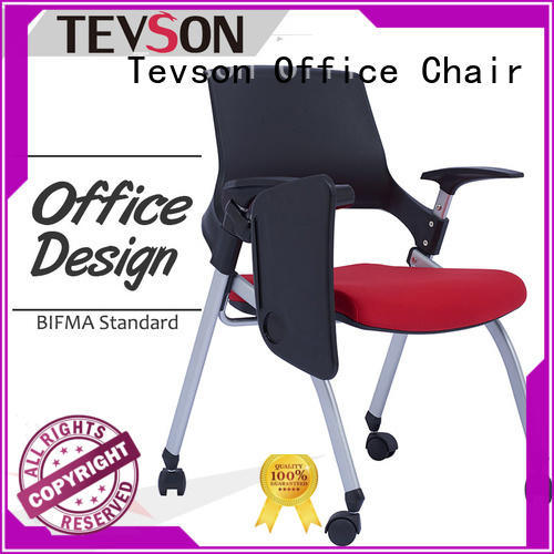 plastic study chair with writing pad furniture marketing