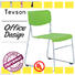 molded staff room chairs plastic with writing board Tevson