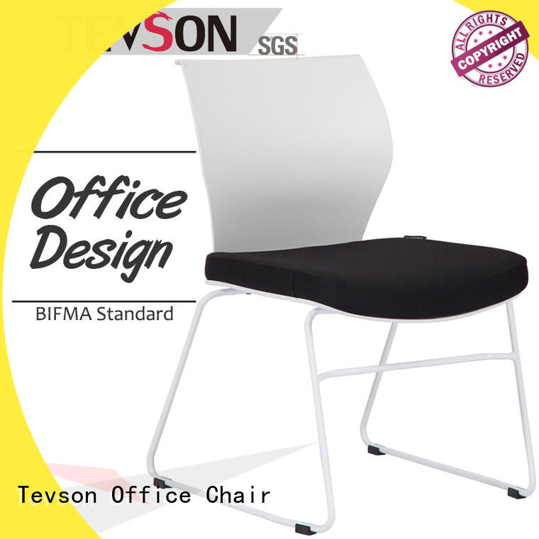 Tevson lecture classroom chairs with writing pad for conference