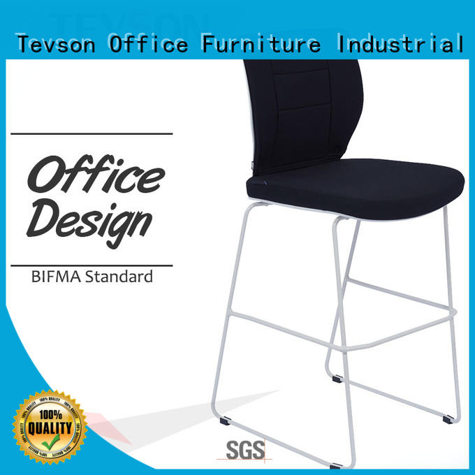Tevson good-package modern bar stools button design for drinking