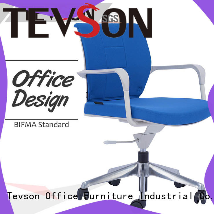 Tevson comfortable swivel office chairs with wheels producer in dining room