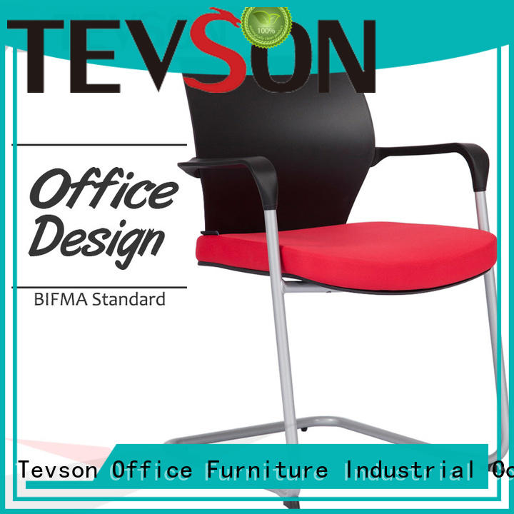 hot-sale classroom chair with writing pad workshops for reception Tevson