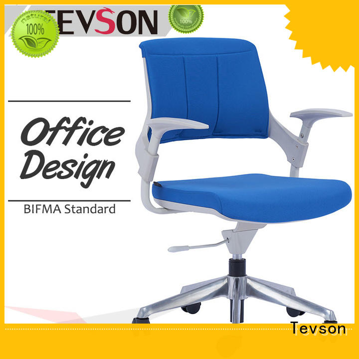 mesh modern office chair with wheels gas in sturdy room Tevson