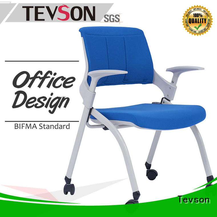 Tevson multi-use study chair with writing pad assurance