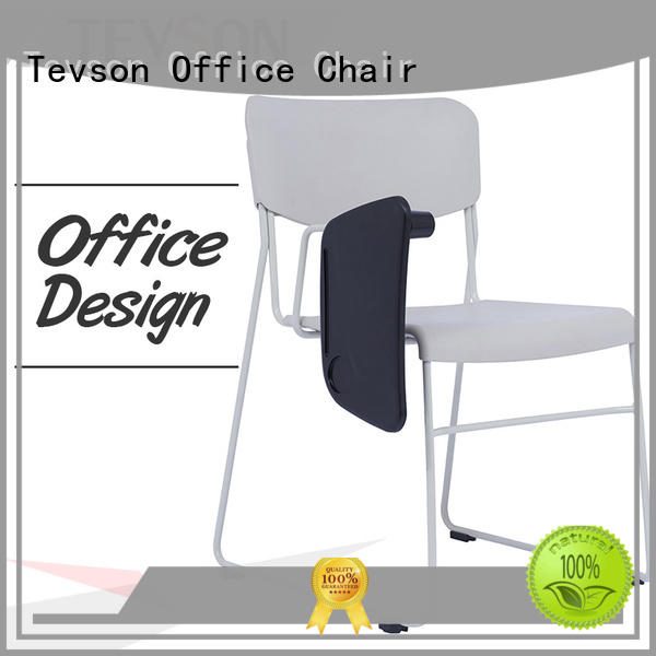 Tevson multi-use meeting room chairs marketing with writing board