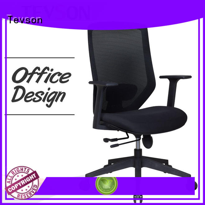 Tevson arms swivel office chair long-term-use in bedroom
