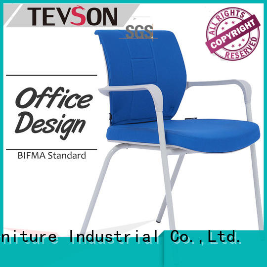 Tevson Brand stacking bestselling plastic student chair with writing pad chair