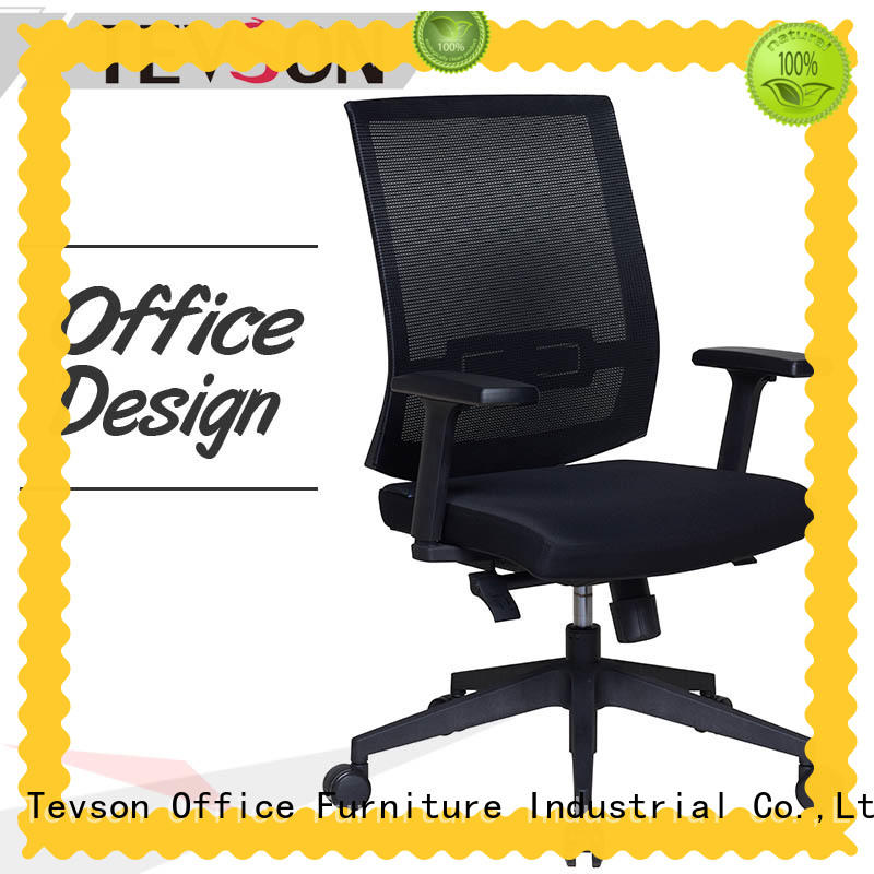 low cost mid-back office chair comfortable testing for anteroom