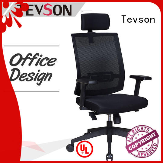 Tevson manager ergonomic mesh office chair at discount for reception