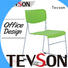 Tevson plastic classroom chairs marketing for conference