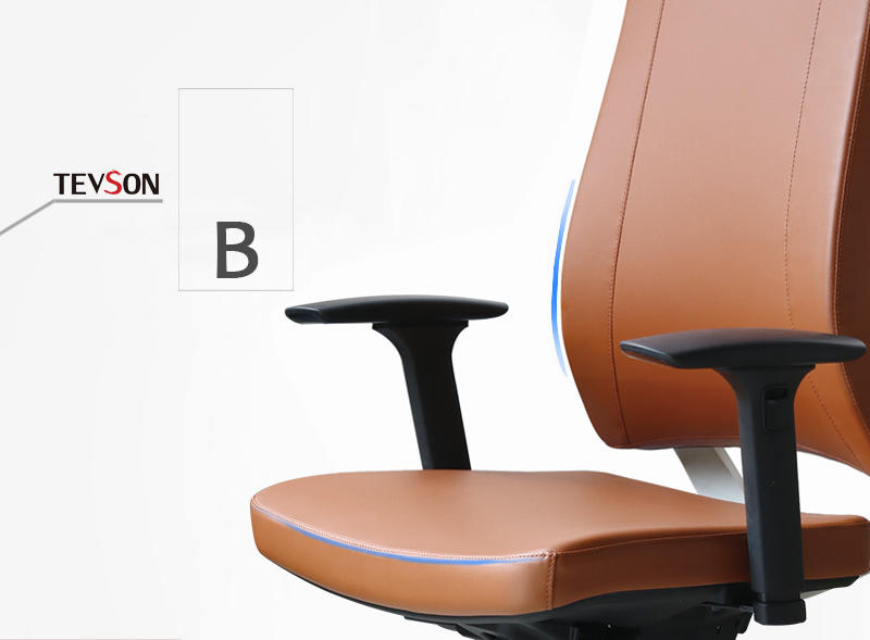 Tevson classic swivel office chair at discount in work room-3