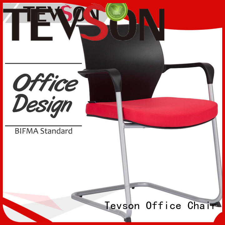 Tevson hot-sale classroom chair with writing pad arm for reception
