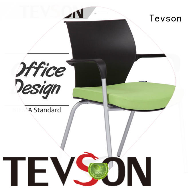 Tevson mid back study chair with writing pad resources for anteroom