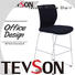 Tevson stable modern bar stools from China for canteen