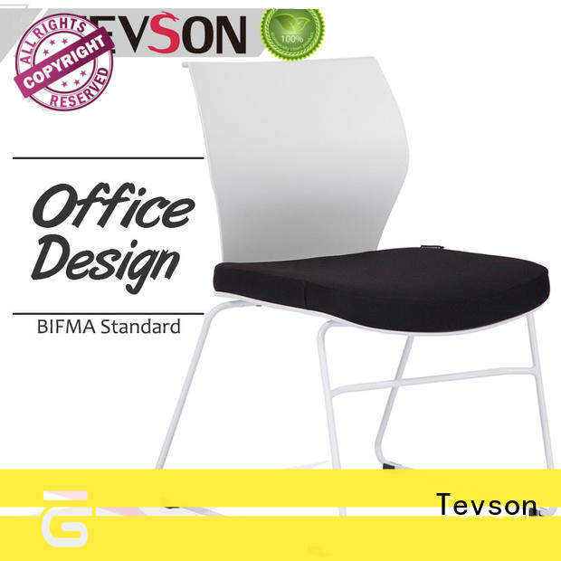 Tevson mid back visitor chairs marketing for conference
