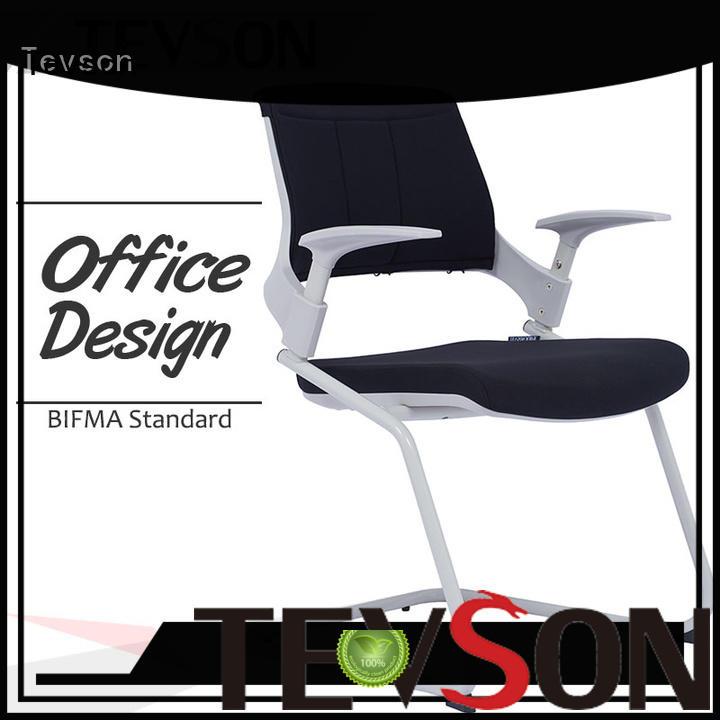 Tevson backrest office visitor chairs online workshops for anteroom