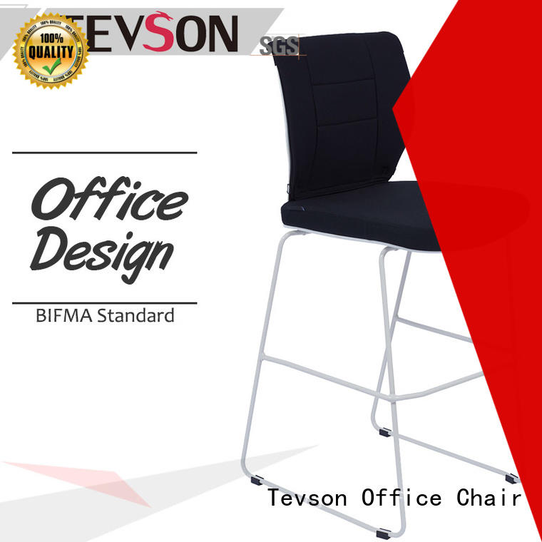 Tevson mid modern bar stools  manufacturer for canteen
