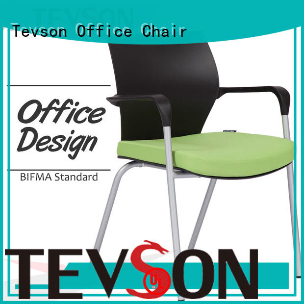 Tevson back meeting room chairs bulk production for anteroom