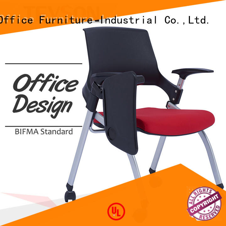 chair study chair with pad order now with writing board Tevson