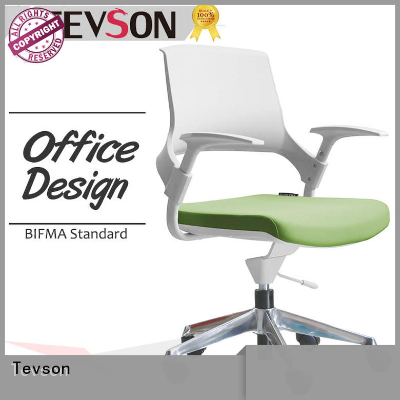 heavy mesh adjustable office chair cushioned for industry Tevson