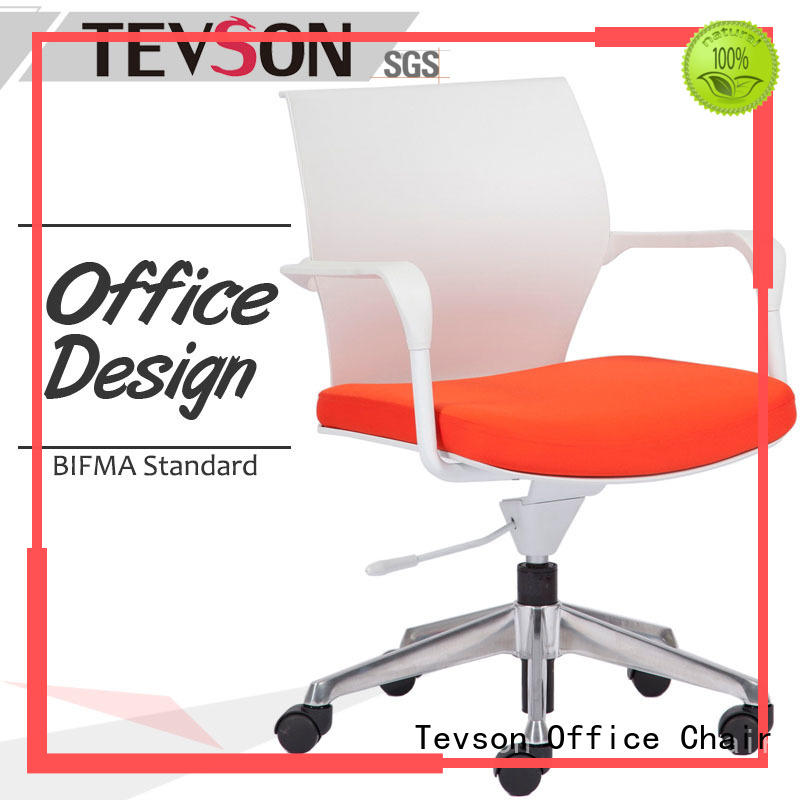 swivel office chairs with wheels rotating in dining room Tevson