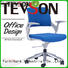 mesh heavy duty office chairs adjustable in dining room Tevson