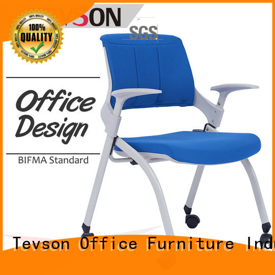 Tevson ultracompact staff room chairs marketing for conference