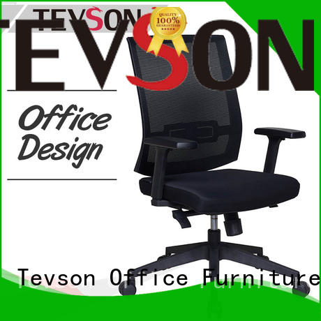 Tevson high efficiency leather office chair package for room