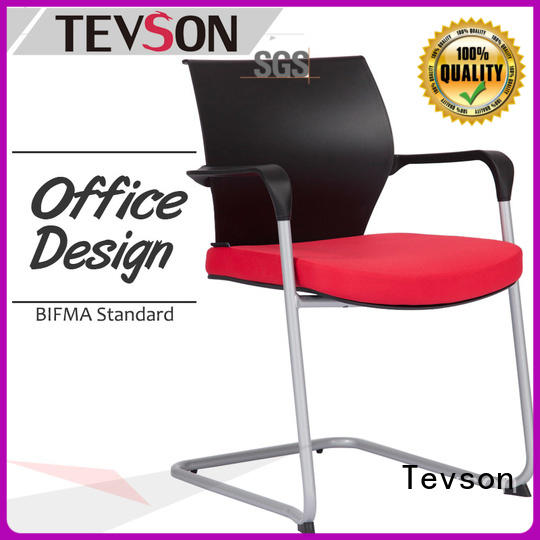 Tevson plastic student chair with writing pad order now for conference