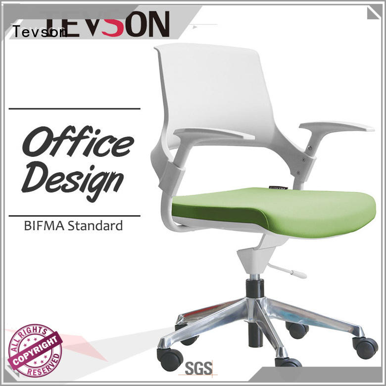Tevson heavy mesh adjustable office chair supply for industry