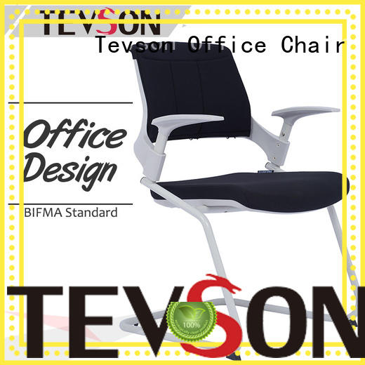 Tevson newly study chair with writing pad polyester